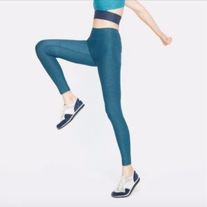 Outdoor Voices WarmUp Legging in Marine